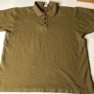 Patagonia Mens Medium Sized Olive Polo Shirt